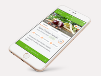 Supermarket app - Recipe detail