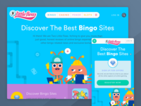 Bingo reviews website - Landing page