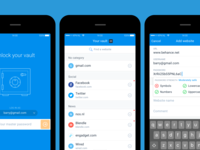 Vaulteq password manager app