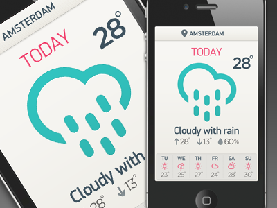 Benzai weatherappv1 dribbble