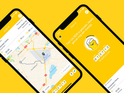 Euro BOB mobile app drunk mobile beer ride summary ride netherlands ui ux android iphone app