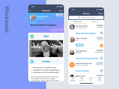Workbookers - a mobile app for the new job market