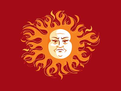 Angry Sun rudahbee sun angry solar fire brad ruder