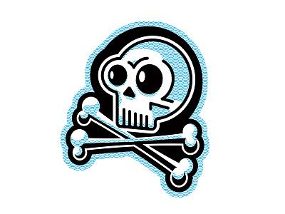 Skull and Bones jolly roger skeleton rudahbee brad ruder