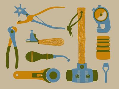 Hand Tools brad ruder rudahbee tools leather handmade