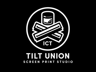 Tilt Union  ict wichita screen printing tilt union brad ruder rudahbee
