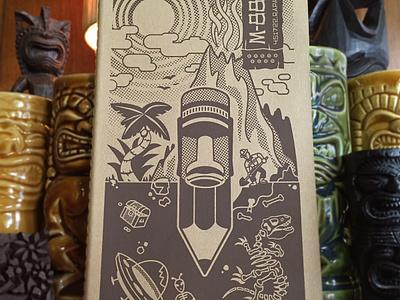 Tiki Sketchbook M-887 tiki sketchbook moleskine bradruder