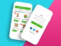 Patanajli mobile app redesign