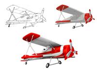 Aircraft Game vehicle