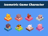 Isometric Game character