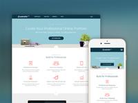 Create Free Online Portfolio Website