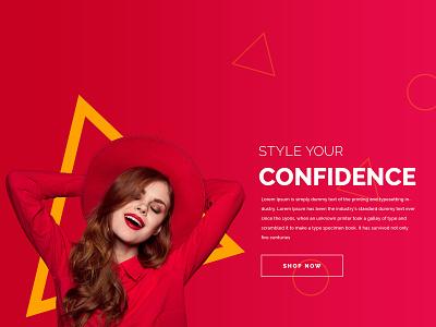 ecommerce website banner design shopping lady shape graphic design graphic creativity creative photoshop banner design banners design website ecommerce