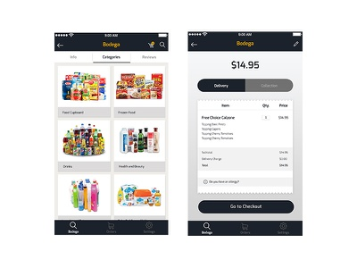 Mobile App ecommerce checkout product app mobileui