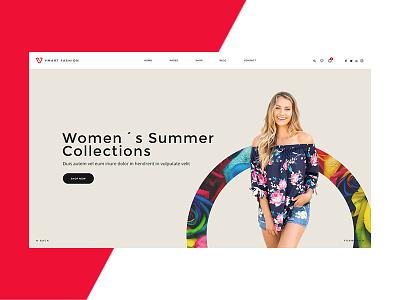 Fashion Banner webdesign design ecommerce design website banner banner fashion