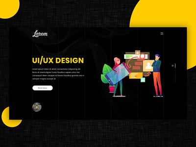 Web Banner graphic  design webdesign webbanner web design uiuxdesign ux ui black banner