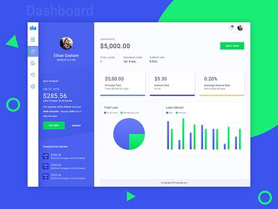 Creative Dashboard creative theme adminpanel graph dashboard admin