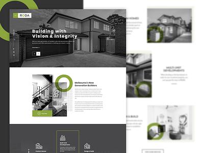 Read Estate Homepage Design home graphics creative design real estate realestate homepage design