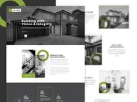 Read Estate Homepage Design