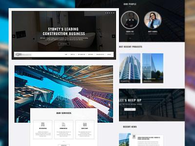 Real estate Homepage design graphics website websitedesign homepagedesign creative home realestate homepage