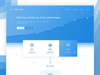 SEO Website Landing Page