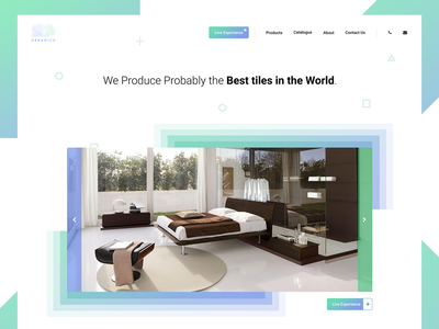 Landing Page for my Friend\'s Ceramic/Tiles Company by Arjun Patel ...