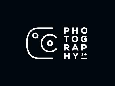 Coco Photography logo brand graphic  design type nexa vector black white