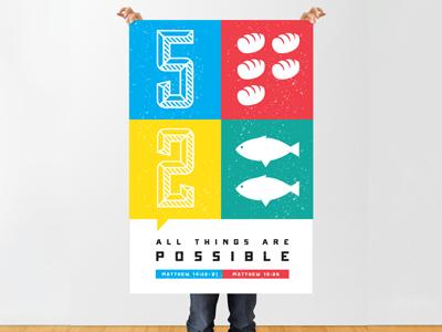 Matthew Mash Up poster typography type sullivan onramp bible verse graphic  design