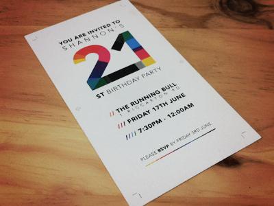 21st Invite