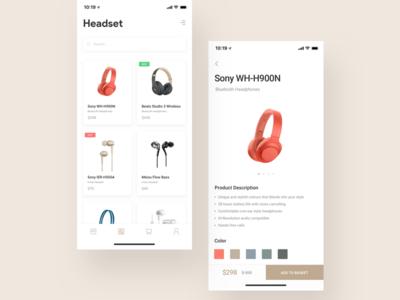 Store App Design