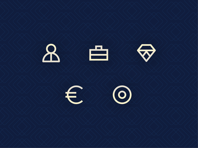Business Icons construction graphicdesign minimalistic identity design logo branding vector modern icons business