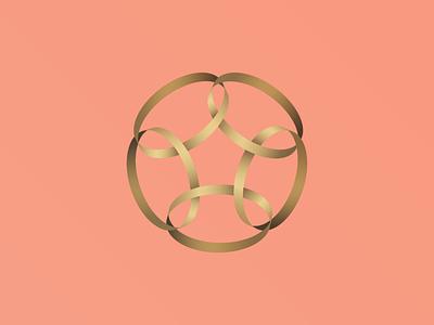 5 Golden Rings rings golden 12 days of christmas festive holiday christmas vector illustration