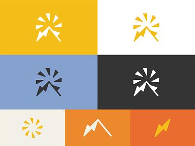 Sun Mountain Solar colors design palette colors logo