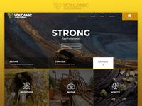 Gold Mining Website Design