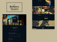 Bar and Restaurant Landing Page