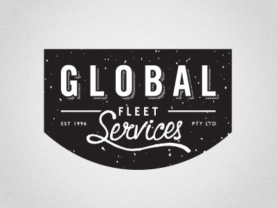 Global Fleet Services Logo logo design