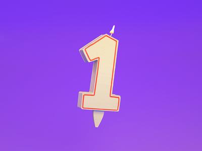 1 = Candle