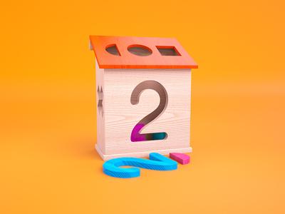 2 = Wooden Shape Blocks
