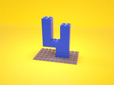 4 = Lego