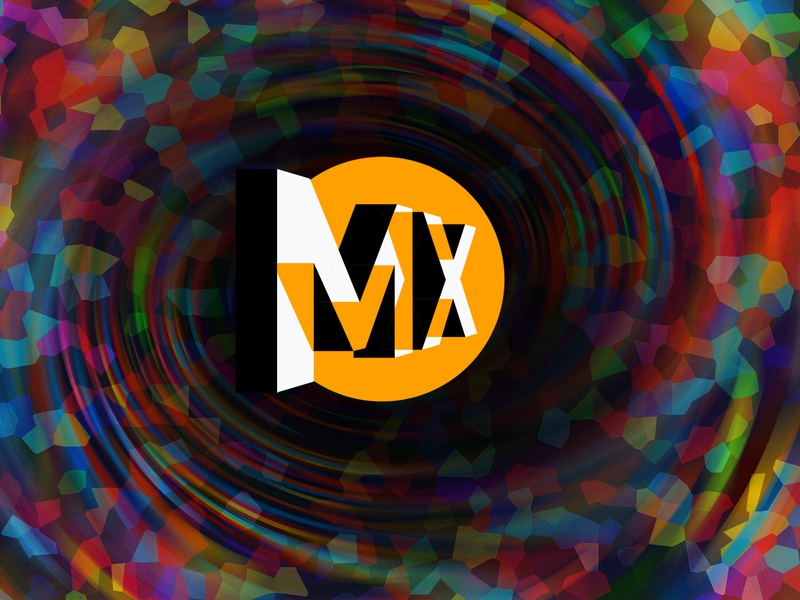 MX illustration typography branding design vector illustrator photoshop logo