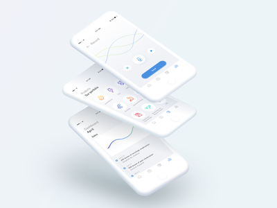 Pharma App Concept record dashboard ui pictograms pharma iconography icon healthcare app interface clean