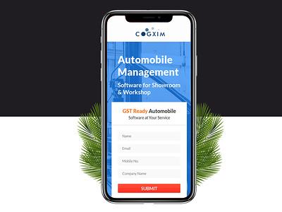 Cogxim UI web interaction interfaces mobile app ios flat design form field uiux ui app