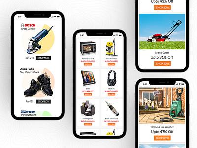 Products UI Design email marketing marketing product design ios android design app uidesign uiux ui ecommerce app ecommerce