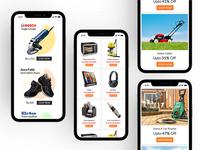 Products UI Design