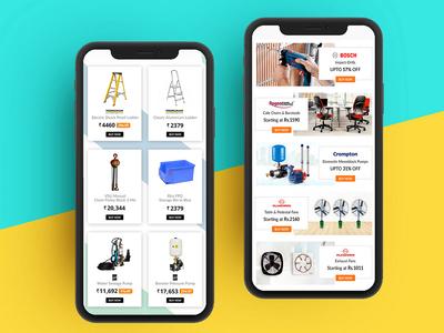 Ecommerce Products UI