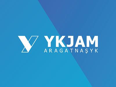 YKJAM turquoise blue branding logo