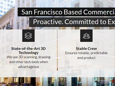 San Francisco commercial plumbers homepage snippet web design website homepage responsive web design responsive piping hvac california ca san francisco commercial plumbers