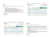 Features layout - custom website design