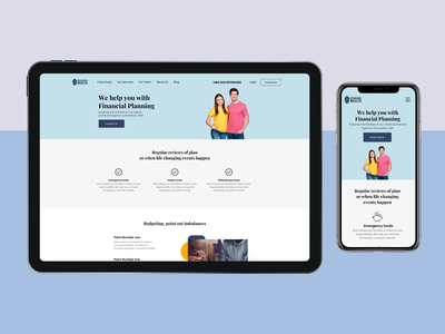 Financial service web design minimal website design userinterface ui ux typography web webdesign design clean