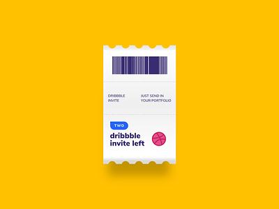 2 dribble invites giveaways clean dribbbleinvite dribble debuts dribbble best shot illustrations designers ux ui pro players player invites dribbble invite