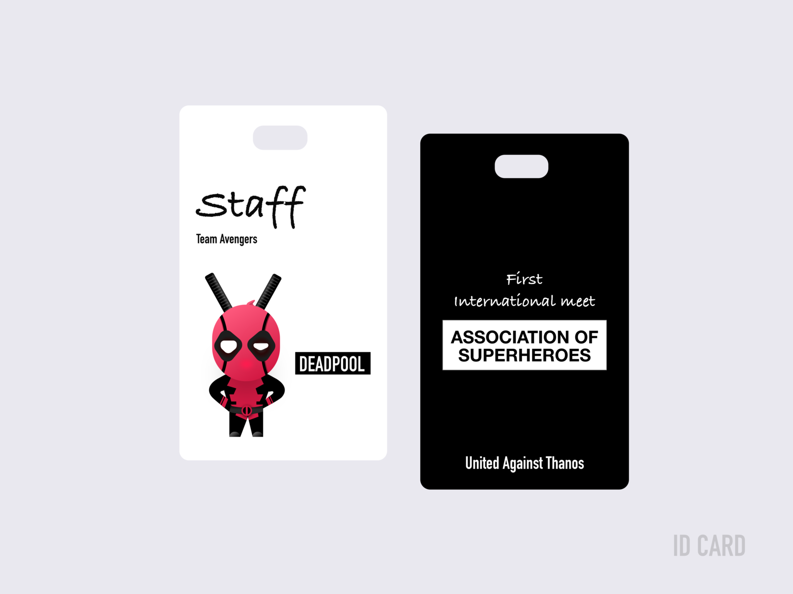 id card design by sreerag nath dribbble